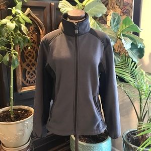 LL Bean dri-fit fleece athletic thermal jacket